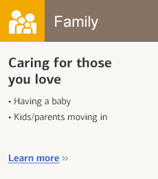 Ad tile: Caring for those you love